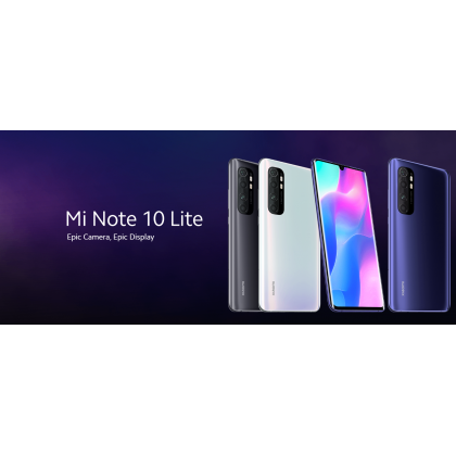 [MY SET] Xiaomi Mi Note 10 Lite [8GB+128GB]