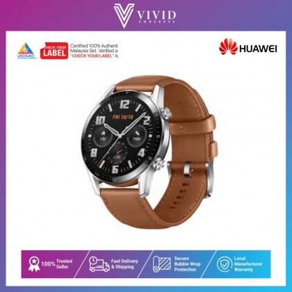 Huawei Watch GT 2 42mm - 1 Year Huawei Malaysia Warranty
