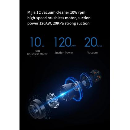 Xiaomi Mi Mijia Handheld Wireless Vacuum Cleaner 1C