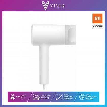Xiaomi Mijia Mi Ionic Hairdryer 1800W [Water Ions Protection | Replenishes Moisture | Neutralizes Static Electricity | Improves Shine] Hair Dryer With 1 Year Warranty