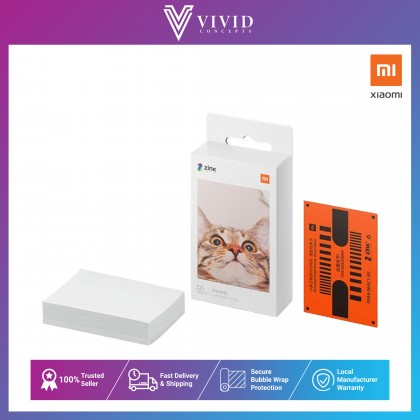Xiaomi Mi Portable Photo Printer Paper (2x3-inch, 20-sheets)