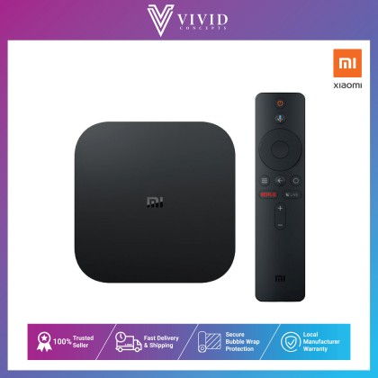 Xiaomi Mi Box S  4K Ultra HD Streaming Media Player Support Netflix / Google Play / Youtube