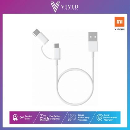 Xiaomi Mi 2-in-1 USB Cable Micro USB to Type C