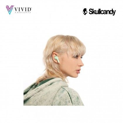 Skullcandy Indy Evo True Wireless Earbuds, IP55 Sweat, Water and Dust Resistant Wireless Earbuds, Rapid Charge