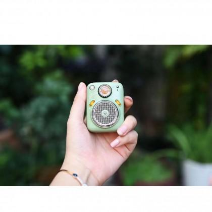 Divoom Beetles FM Vintage Style Design Ultra Compact Portable Bluetooth / FM Radio / TF Card Fine-Tuned Speaker